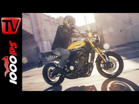Yamaha XSR 900 First Look with Valentino Rossi