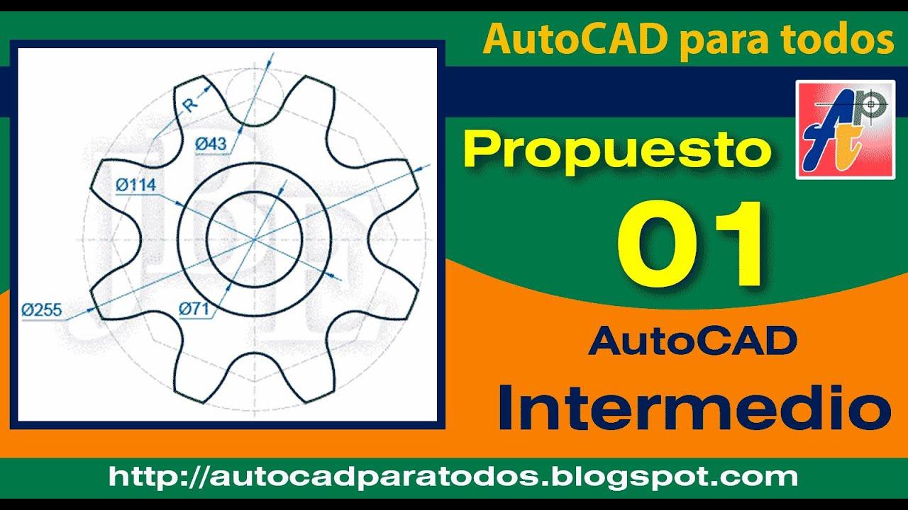 Solución Propuesto 01 - AutoCAD Intermedio