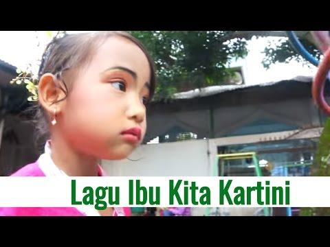 Lagu Ibu Kita Kartini MakeUp Anak Di Salon - Sejarah Pahlawan RA Kartini - Paud Amanah -  Tori Airin
