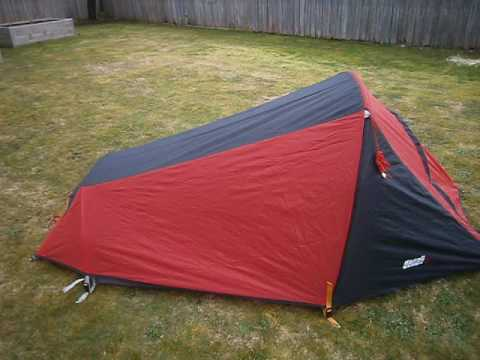 Denali Zephyr 1 hiking tent from Anaconda Australia & Denali Zephyr 1 hiking tent from Anaconda Australia - YouTube