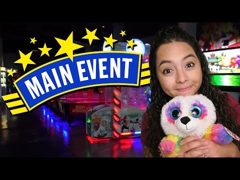 Having fun at Main Event Arcade!!!