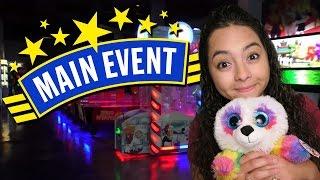 Having fun at Main Event Arcade!!!