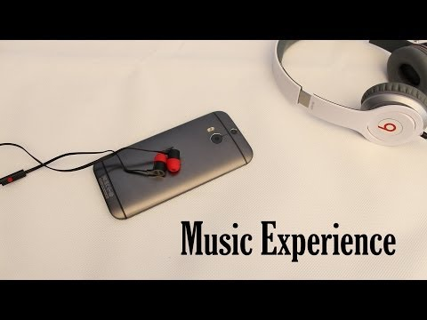 HTC One M8 - Music player - BoomSound - Speakers