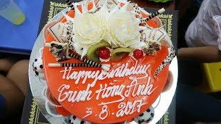 Cắt Bánh Kem Hát Chúc Mừng Sinh Nhật Hồng Anh Tròn 12 Tuổi Happy Birthday to Hong Anh