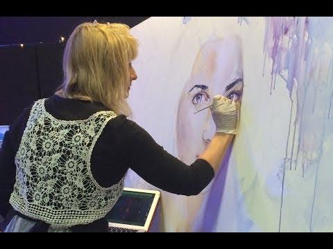 Prophetic Artist Making God Art