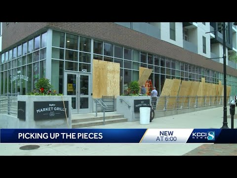 City Leaders Estimate $500K In Damage To Downtown Des Moines