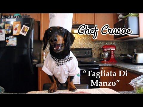 Chef Crusoe Follows Recipe by Gino D'Acampo for 'Tagliata di Manzo'!
