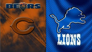 (Preview/Prediction) Detroit Lions vs Chicago Bears | Week #10 2018