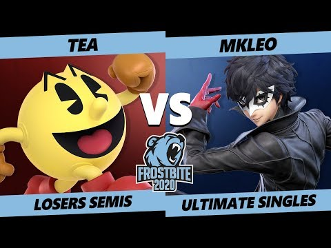 Frostbite 2020 SSBU Losers Semis - SG8 | Tea (Pac-Man) Vs. MkLeo (Joker) Smash Ultimate Singles