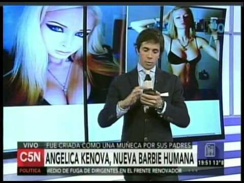 C5N - ESPECTACULOS: ANGELICA KENOVA, NUEVA BARBIE HUMANA