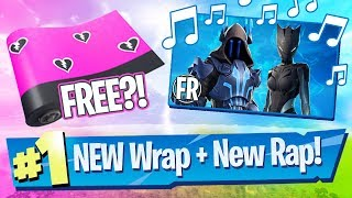 FREE Cuddle Hearts Wrap + Season 7 Song Preview! - Fortnite Battle Royale