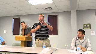 Blossburg Police Chief Josh McCurdy at June 22 drug forum part 2/2