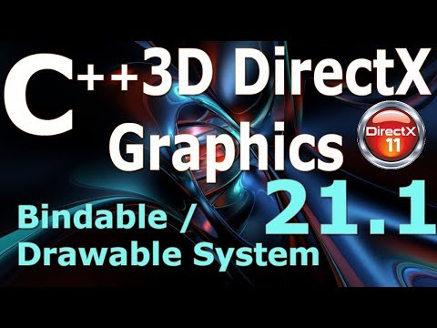 C++ 3D DirectX Tutorial [Bindable / Drawable System] thumbnail