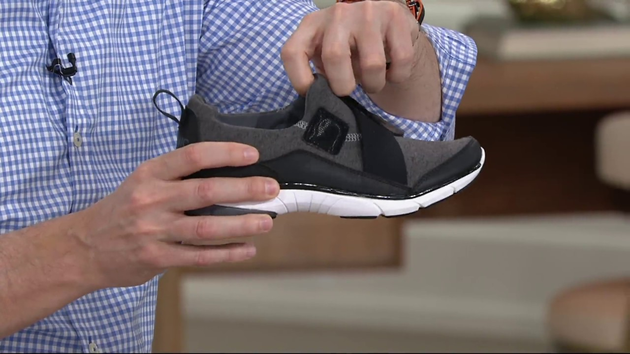 2e37684cc058a Vionic Orthotic Knit Slip-on Sneakers - Darcy on QVC - YouTube