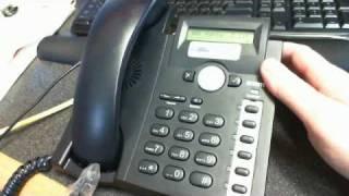 snom 300 SIP / Lync Phone Quick Review