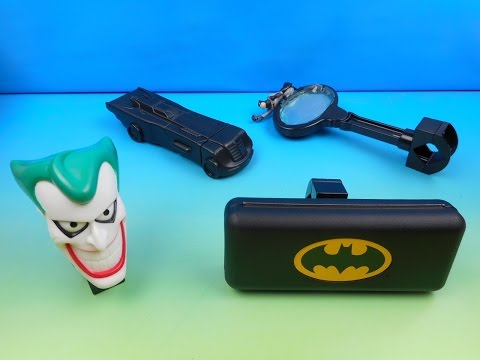 Download Youtube: 1996 BATMAN and ROBIN SET OF 4 McDONALD'S BIKE ACCESSORIES KIDS MEAL TOYS VIDEO REVIEW