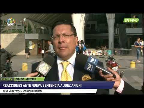 Venezuela- Reacciones ante nueva sentencia de jueza Afiuni - VPItv