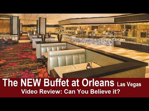 The New Budget Buffet at Orleans Las Vegas 2018 review: you won't believe this! from top-buffet.com