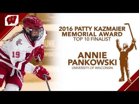 Annie Pankowski - 2016 Patty Kazmaier Memorial Award Top-10 Finalist