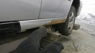 Кузовной Ремонт Toyota Caldina Ч 3 Жесть.
