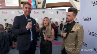 2017 ACM Awards: Brett Young Red Carpet Interview