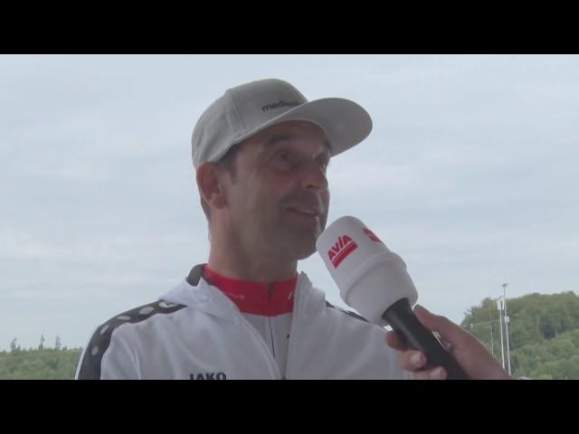 Rennfahrer Jörg Müller bei Rad am Ring - 24h über die Nürburgring Nordschleife