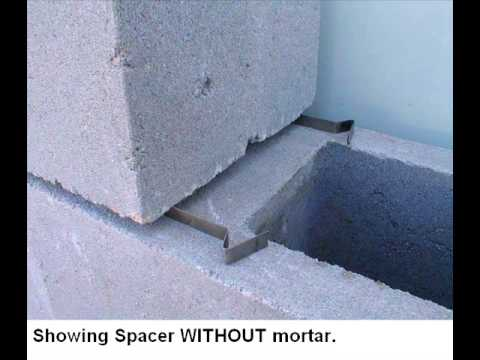 Masonry Joint Spacer S Youtube