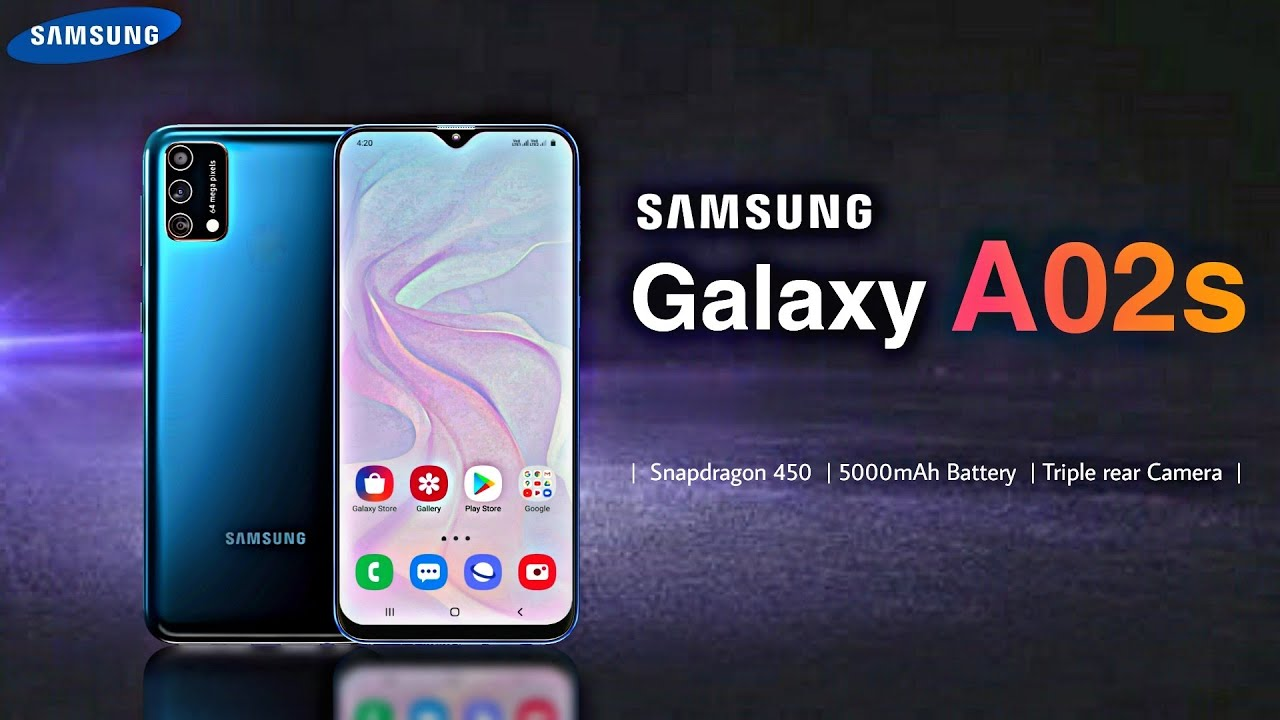 Samsung Galaxy A02s Samsung A02s Specifications Launch Date And Price Youtube