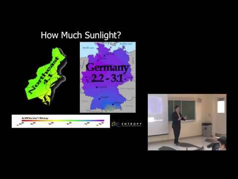 A Powerful Idea: Solar Energy Presentation to Columbia University