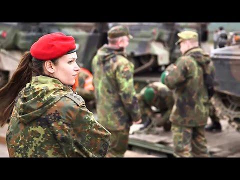 German 10. Panzerdivision Loads Marder IFV For NATO Mission