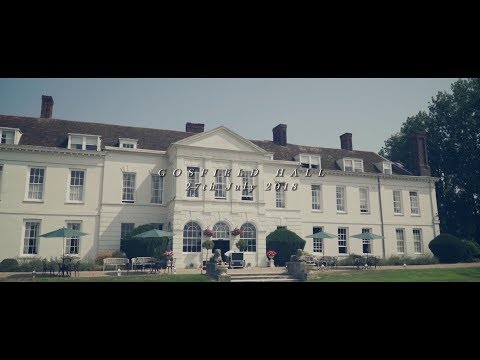 Becky & Tom 28-07-2018 Gosfield Hall highlights | Boutique wedding films and photography