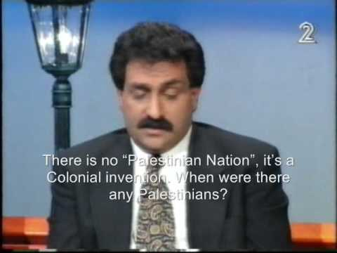 "Professor Azmi Bishara: There Is No ""Palestinian Nation"", Never Was !"