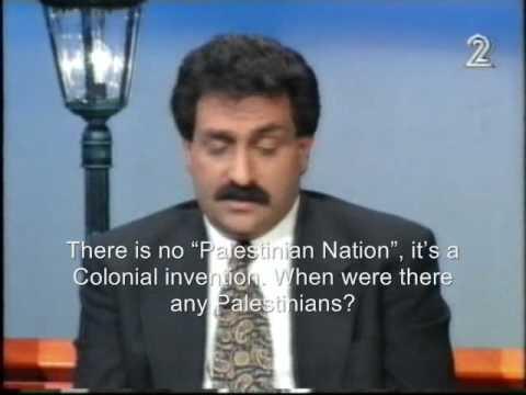 "Professor Azmi Bishara: There Is No ""Palestinian Nation"", Never Was !"