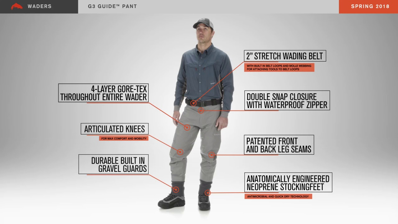 Gear review: simms g3 guide waders anglers all | anglers all.