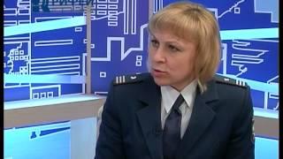 Утренний гость  Алена Савейко начальник отдела работы с налогоплатильщиками