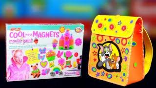 2 Amazing DIY Kit Cool Fridge Magnets amp DIY School Bag