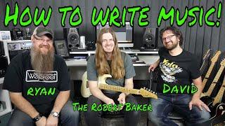 Guitar writing tips with Robert Baker and David Wallimann!