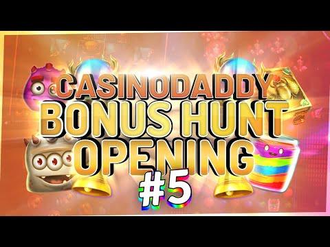 €12600 Bonushunt -  Casino Bonus Opening From Casinodaddy LIVE Stream #5