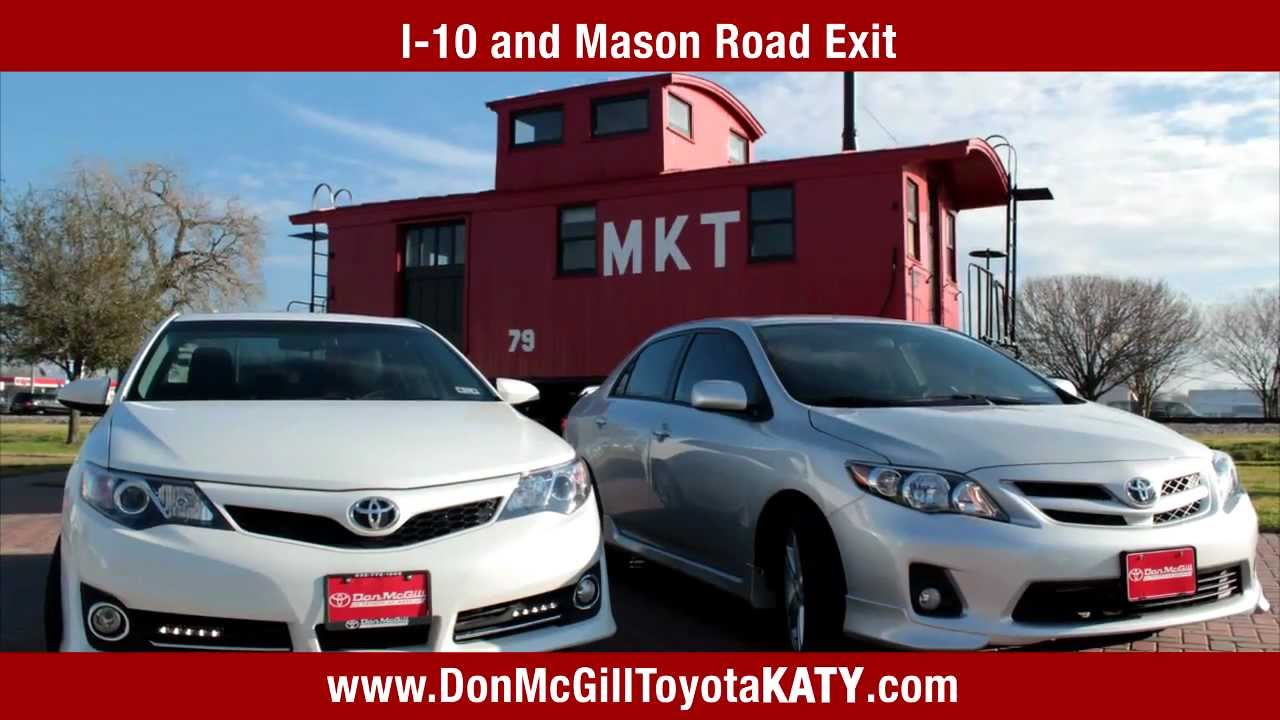 Don McGill Toyota Of Katy   February 2013 TV Commercials