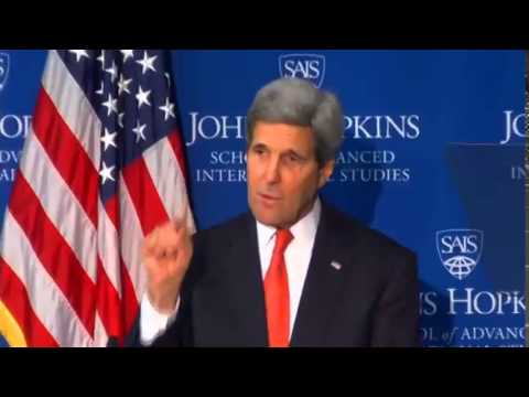 Secretary Kerry Delivers Remarks on U.S.-China Relations