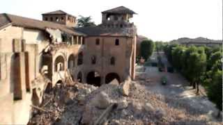 """Terremoto Riprese aeree Estate 2012 RAIUNO """"La Vita in Diretta""""."""