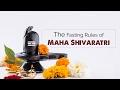 The Fasting Rules of Maha Shivaratri   rituals   vrat niyam