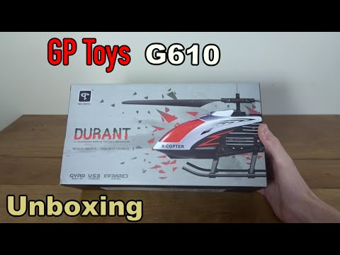 GPTOYS G610 11 Durant Built-in Gyro Infrared Remote Control Helicopter Large Model 3.5 Channels with Gyro and LED Light for Indoor Ready to Fly: Toys & Games