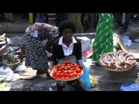 Libreville residents complain about food prices