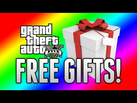 GTA 5 ONLINE - HOW TO GET FREE GIFTS FROM ROCKSTAR! (GTA 5 Update)