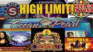 HIGH LIMIT SLOT MACHINE-GROUP PULL FUN WITH VEGAS FANATICS