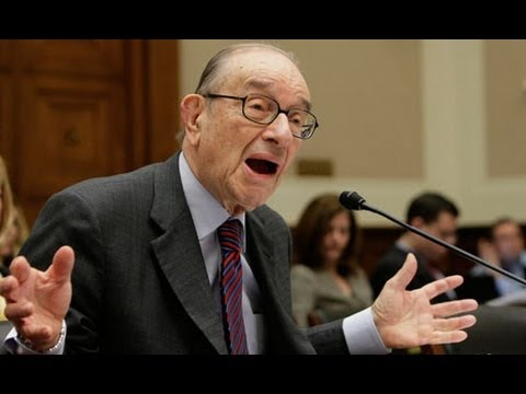 Alan Greenspan: Libertarian Economics Don't Work Travel Video