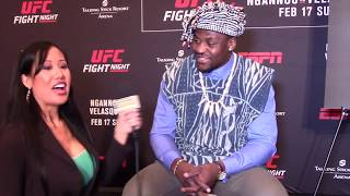 FRANCIS NGANNOU SHARES WHAT CAIN TOLD HIM IN FACE OFF, HOPES TO KO HIM; WHY HE WON STIPE FIGHT