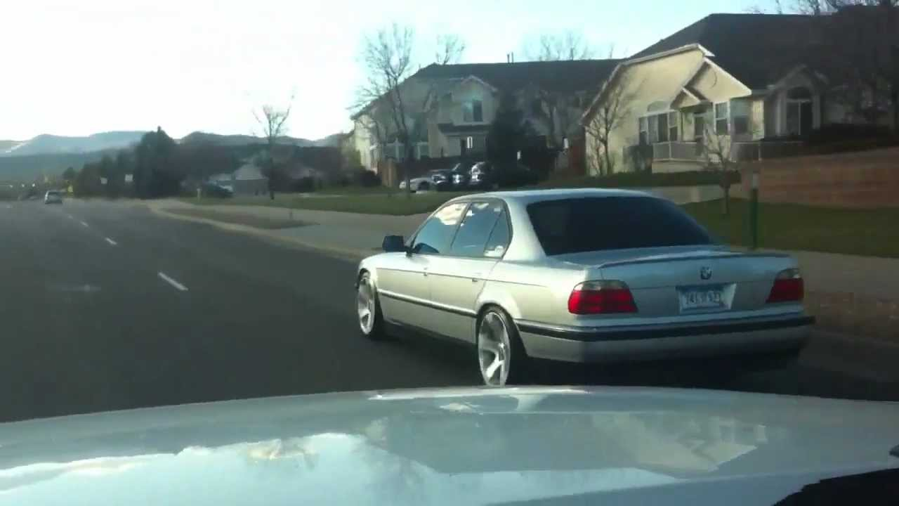Bmw 740i Rolling On Style 132 S Youtube