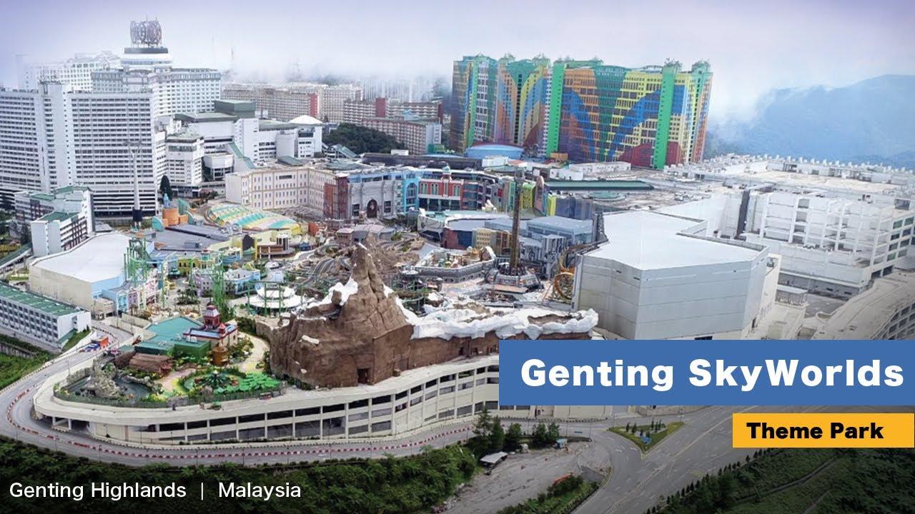 Genting Skyworlds Theme Park - It's COOL! [4K]